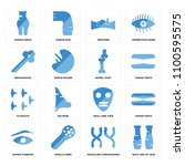 set of 16 icons such as back... | Shutterstock .eps vector #1100595575