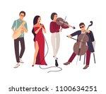 Jazz Or Blues Music Band...