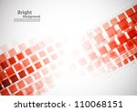bright background with red... | Shutterstock .eps vector #110068151