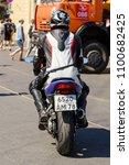 saint petersburg  russia   may... | Shutterstock . vector #1100682425
