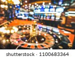 blurred defocused background of ... | Shutterstock . vector #1100683364
