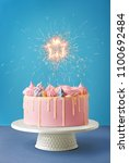 Birthday Cake Isolated On A...