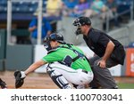 Catcher  and umpire on the...