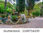 park giardini della villa... | Shutterstock . vector #1100716235