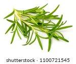 fresh herb  fresh rosemary... | Shutterstock . vector #1100721545