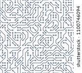 computer circuit board....   Shutterstock .eps vector #1100746094