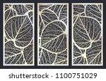 vector set of templates of... | Shutterstock .eps vector #1100751029