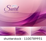 swirl abstract background... | Shutterstock .eps vector #1100789951