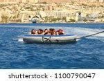eilat  israel   june  24  2017  ... | Shutterstock . vector #1100790047