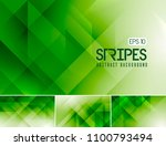 vector fractal and stripes... | Shutterstock .eps vector #1100793494