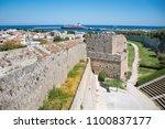 view of city walls  open air... | Shutterstock . vector #1100837177