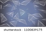 the glass beats and flies in... | Shutterstock .eps vector #1100839175