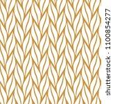 vector geometric leaf seamless... | Shutterstock .eps vector #1100854277