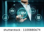 crm customer relationship... | Shutterstock . vector #1100880674