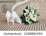 Bridal Bouquet And Shoes....