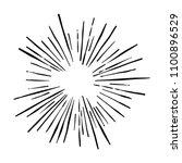 explosion vector illustration....   Shutterstock .eps vector #1100896529