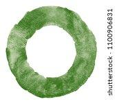 dark pine green watercolor...   Shutterstock . vector #1100906831