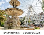 budapest  hungary  july 9  2015 ... | Shutterstock . vector #1100910125