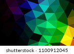 dark multicolor  rainbow vector ... | Shutterstock .eps vector #1100912045