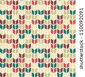 seamless geometric pattern in... | Shutterstock .eps vector #110092091