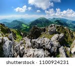 the view from great rozsutec... | Shutterstock . vector #1100924231