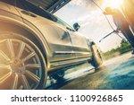 caucasian men in his 30s... | Shutterstock . vector #1100926865