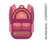 backpack icon. street backpack  ...   Shutterstock .eps vector #1100936657