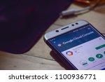 bekasi  west java  indonesia....   Shutterstock . vector #1100936771
