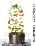 Fresh Vegetables To Cook A Sou...