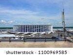 russia  nizhny novgorod   july... | Shutterstock . vector #1100969585