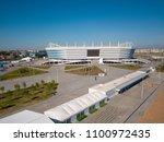 kaliningrad   russia  may 20 ... | Shutterstock . vector #1100972435