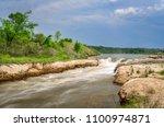 norden chute on niobrara river... | Shutterstock . vector #1100974871