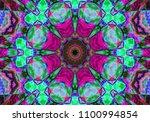 oriental patterns. decoration... | Shutterstock . vector #1100994854