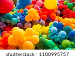 bright abstract background of... | Shutterstock . vector #1100995757