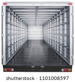 interior of truck trailer   Shutterstock . vector #1101008597