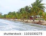 belize tropical getaway | Shutterstock . vector #1101030275