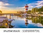 hilton head  south carolina ... | Shutterstock . vector #1101033731