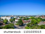 elevated view of bournemouth... | Shutterstock . vector #1101035015