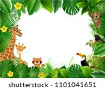 spring or summer season... | Shutterstock .eps vector #1101041651