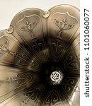 close up vintage speaker pattern | Shutterstock . vector #1101060077