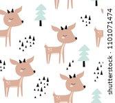 Seamless Childish Pattern With...