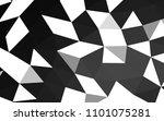 dark silver  gray vector blurry ... | Shutterstock .eps vector #1101075281