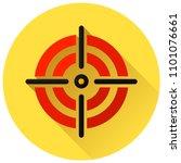 illustration of target circle... | Shutterstock .eps vector #1101076661