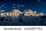 Panorama High Snow Mountains Central - Fine Art prints
