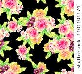 abstract elegance seamless... | Shutterstock . vector #1101101174