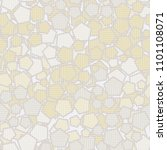 pentagonal camouflage. seamless ... | Shutterstock .eps vector #1101108071