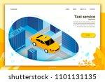 vector concept illustration   ... | Shutterstock .eps vector #1101131135