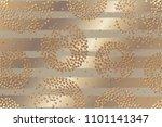 metallic texture. gold... | Shutterstock .eps vector #1101141347