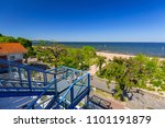 sopot  poland   may 24  2018 ... | Shutterstock . vector #1101191879