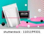 vector 3d realistic corner wall ... | Shutterstock .eps vector #1101199331